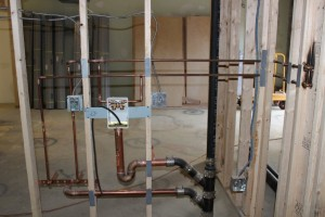 New construction remodeling plumbing contractor